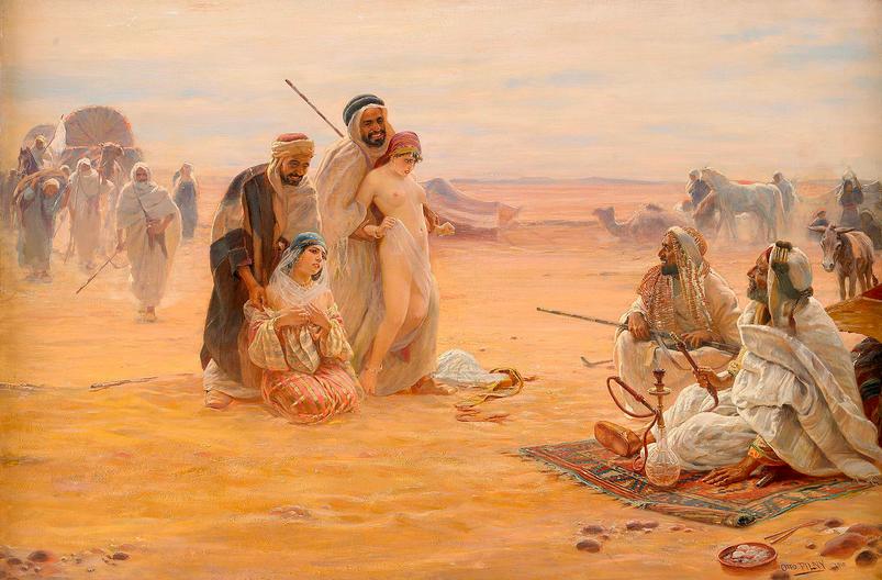 scene-from-a-muslim-slave-market-of-white-women2-otto-pilny1